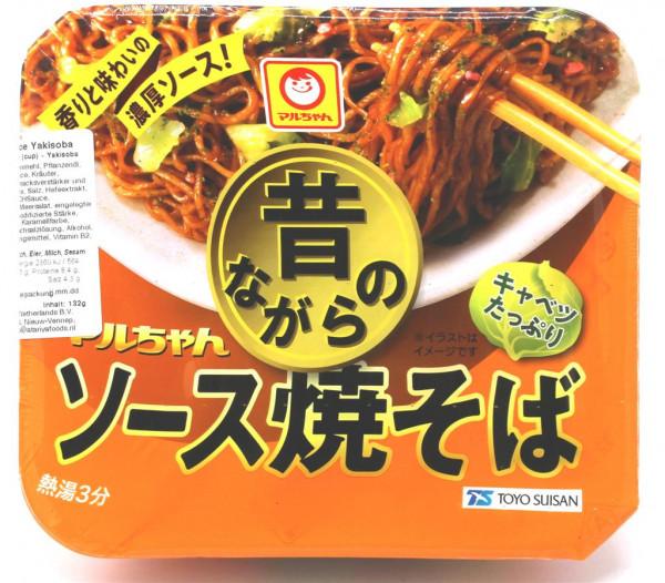 Toyo Suisan Mukashinagara Yakisoba-Nudeln mit Sauce,123 g