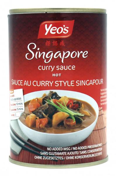 Yeo´s Singapore Curry Sauce, 400 ml