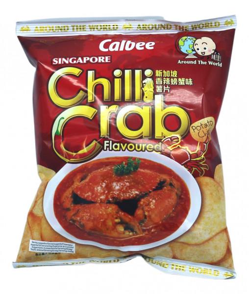 Calbee Kartoffelchips Meeresfrüchte Geschmack, 55 g