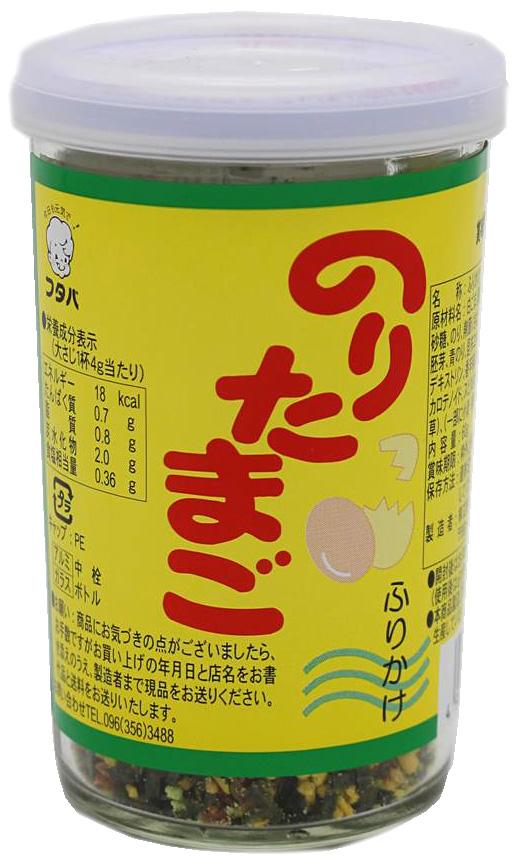 Futaba Tamago Furikake Reisgewürz mit Eigelb-Geschmack, 60 g