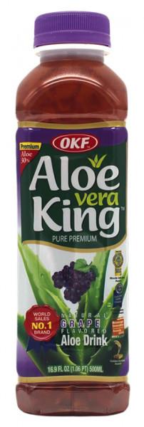 OKF Aloe Vera Getränk Traube, 500 ml