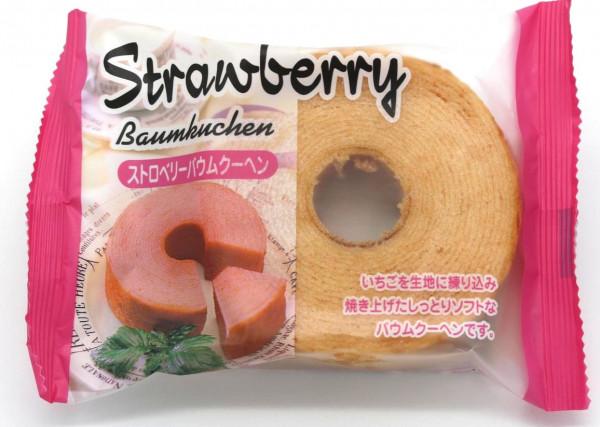 Taiyo Food Erdbeer-Baumkuchen, 80 g