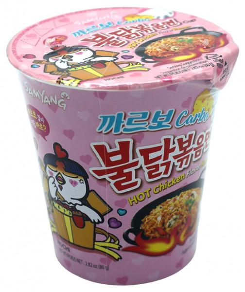Samyang Hot Chicken Ramen Carbonara Cup, 80 g