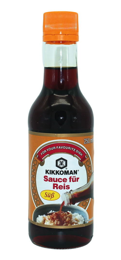 KIKKOMAN süße Würzsauce für Reis, 250 ml