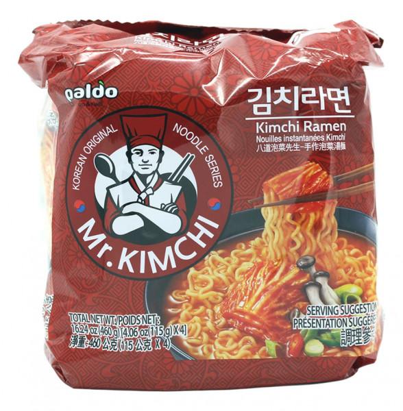 Paldo Kimchi Ramen, 4x 115 g