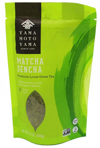 Yamamotoyama grüner Sencha-Tee mit Matcha, 100 g
