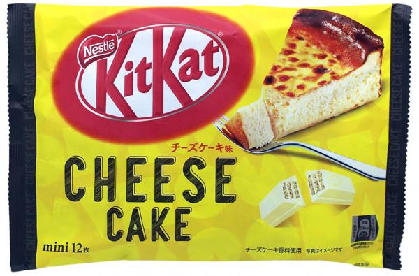 Nestle KitKat Käsekuchen Geschmack Mini, 12x 9,9 g