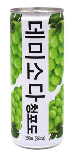 Demisoda Trauben-Geschmack, 250 ml