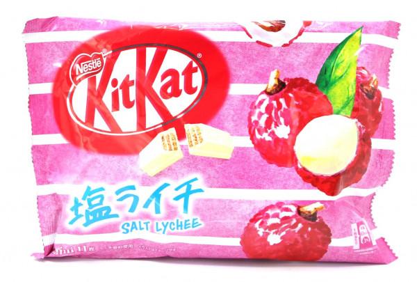 Nestle KitKat Salz-Litschi Mini, 12x 11,3 g