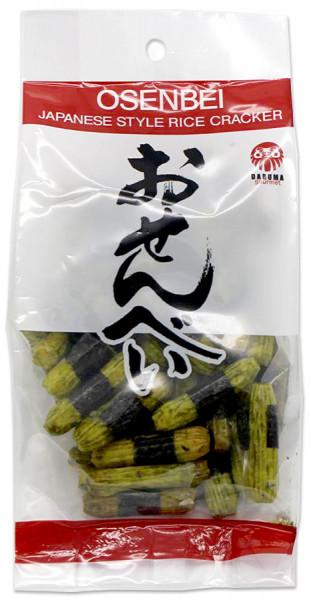 Daruma Osenbei-Reiscracker mit Nori- und Wasabi-Aroma, 50 g