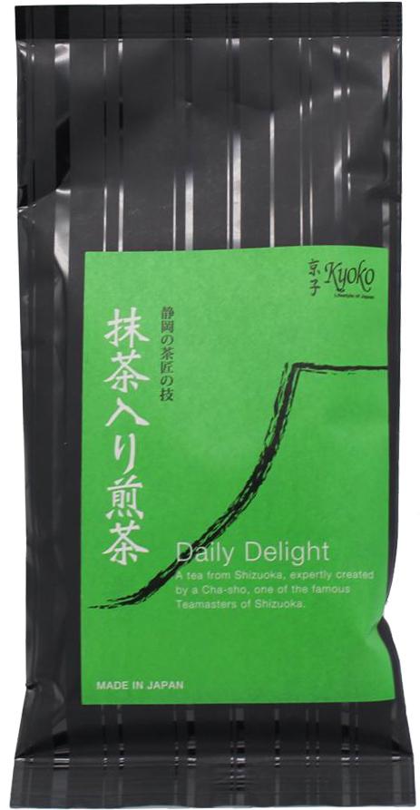 Kyoko Daily Delight Sencha-Grüntee mit Matcha, 100 g