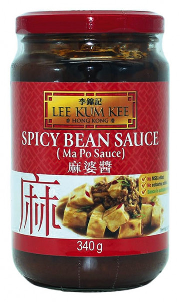 Lee Kum Kee würzige Bohnen-Sauce Mapo Tofu, 340 g