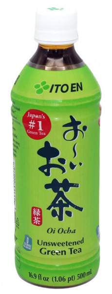 Oi Ocha Grüner Tee ungesüßt, 500 ml