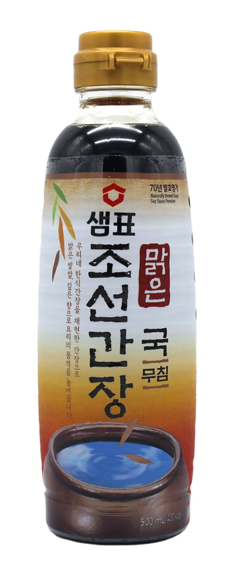 Natürlich gebraute Sojasauce für Suppe, 500 ml
