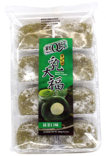 Mochi Grüner Tee mit Sahne, 360 g