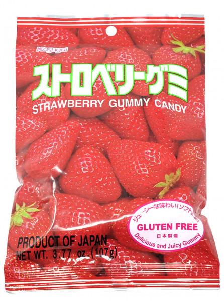 Kasugai Fruchtgummi Erdbeere, 113 g