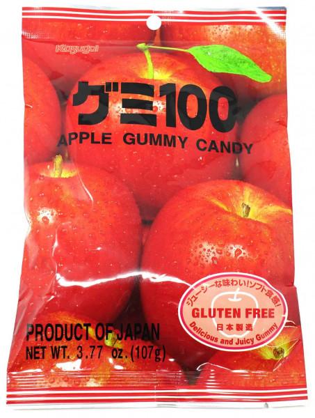 Kasugai Fruchtgummi Apfel, 113 g