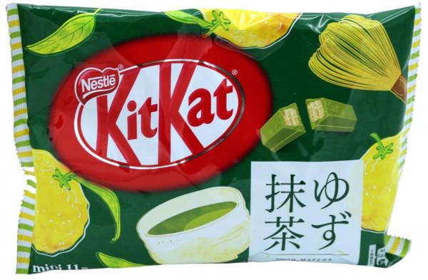 Nestle KitKat Yuzu Matcha Mini, 11x 11,6 g