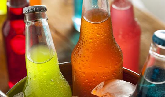 Asiatische Softdrinks