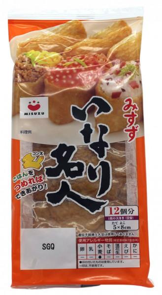 AJITSUKE INARI Tofutaschen, gekocht und zubereitet für Sushi, 220 g