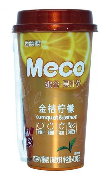 Meco Früchtetee, Kumquat und Lemon, 400 ml