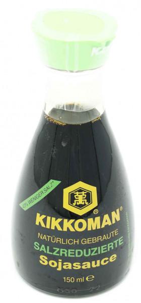 KIKKOMAN Soja Sauce salzreduziert, 150 ml