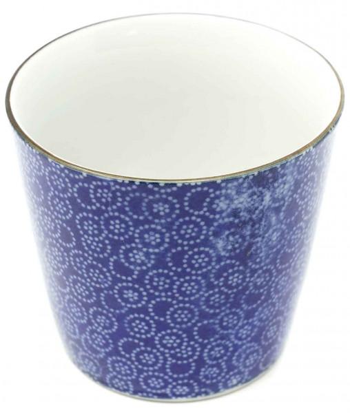 Teetasse mit floraler Musterung, 7,8x7,1 cm