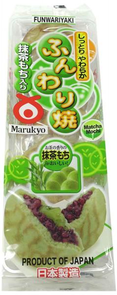 Funwariyaki japanische Pfannkuchen mit Grünteegeschmack, 280 g