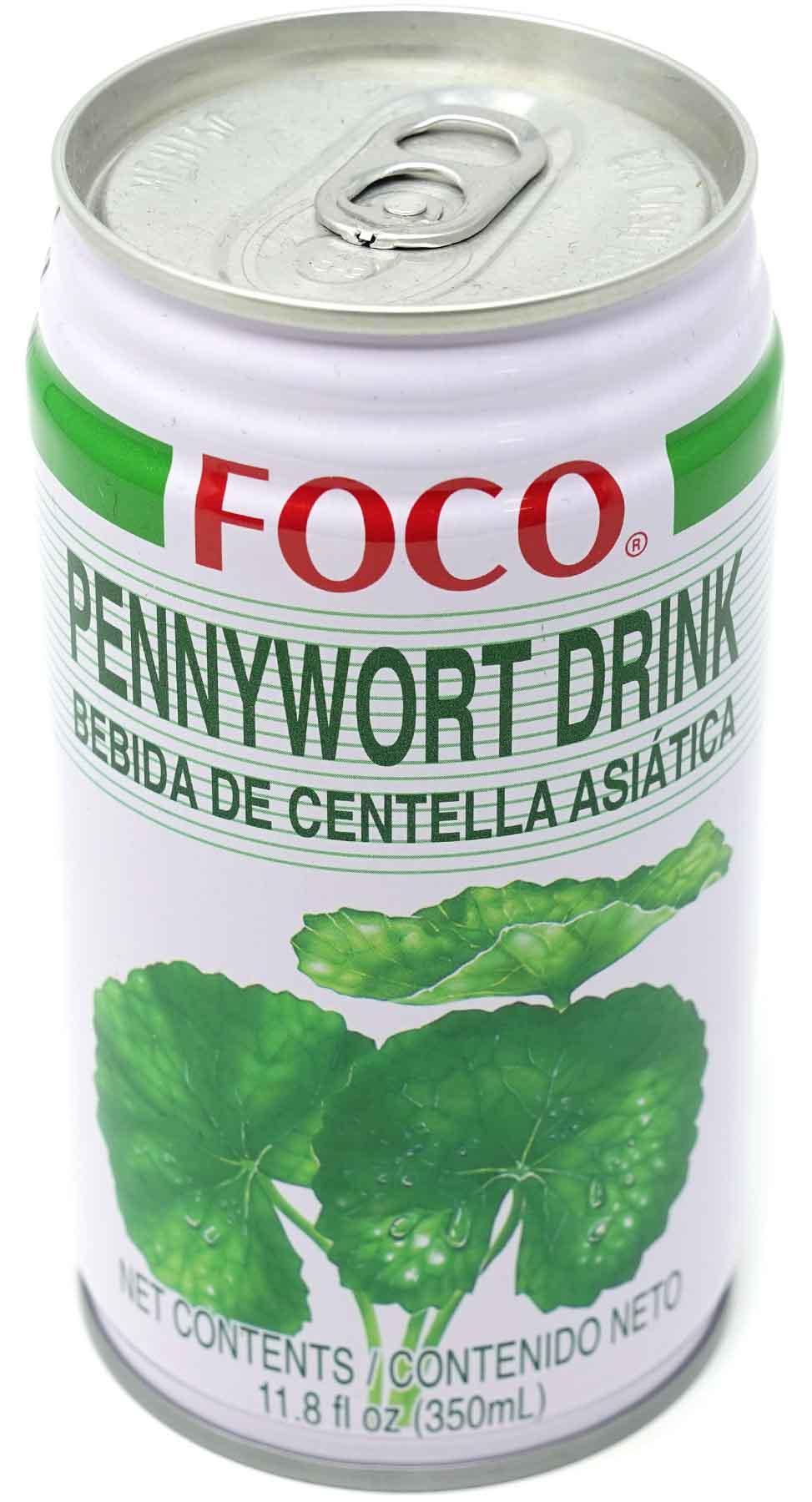 Foco Pennywort Getränk, 350 ml