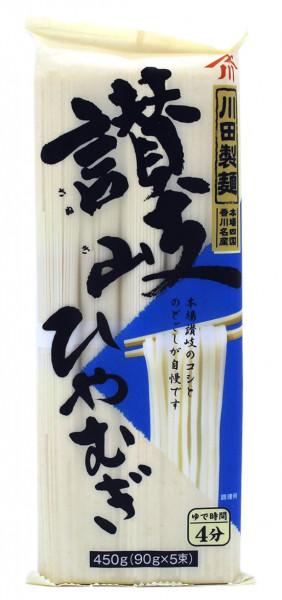 Kawata japanische Nudeln Sanuki Hiyamugi, 5x 90 g