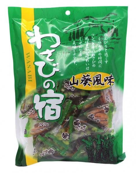 TAKUMA Knuspriger Bohnen Mix Wasabi Geschmack, 140 g