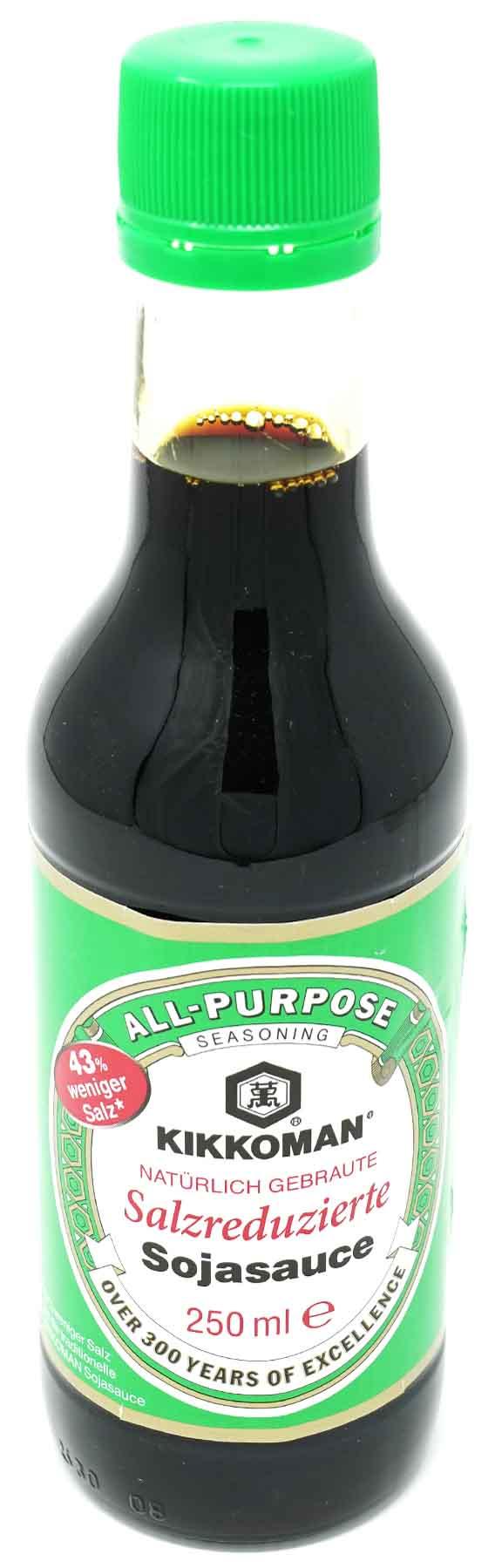 KIKKOMAN Soja Sauce salzreduziert, 250 ml