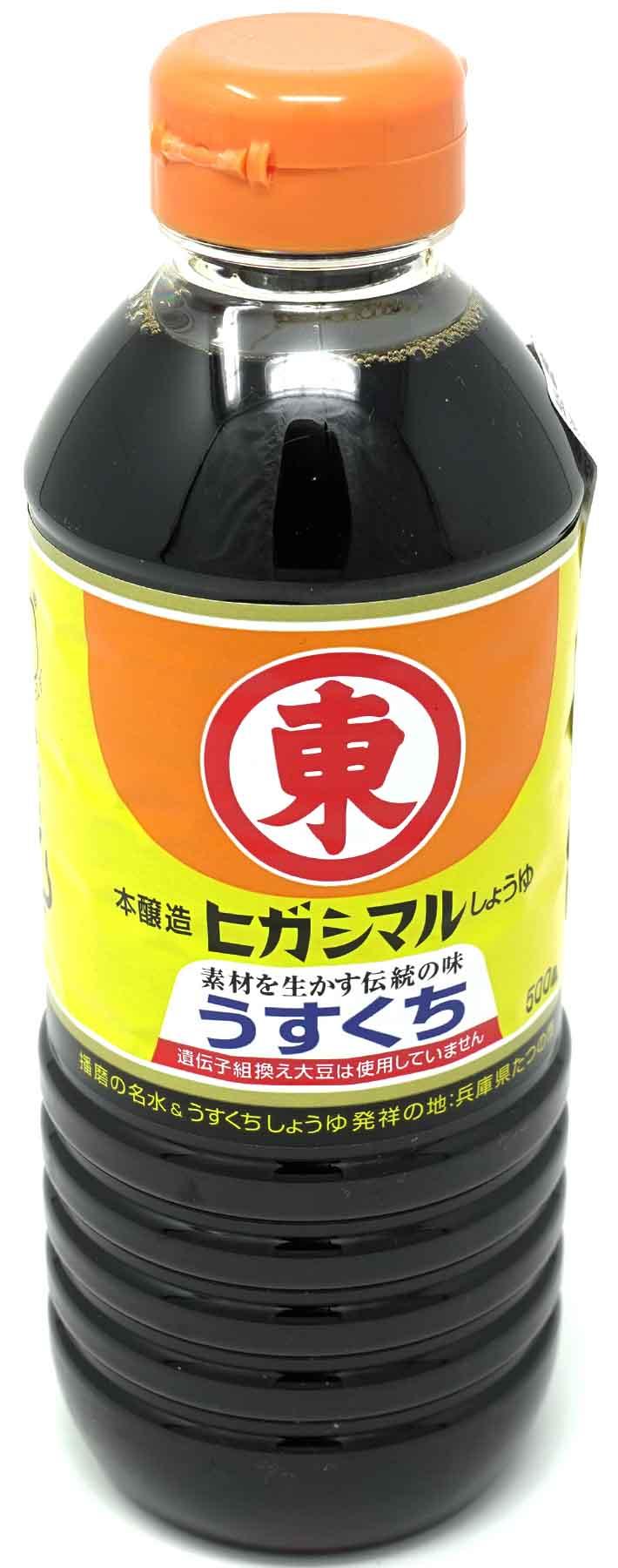 Higashimaru Usukuchi Shoya Sojasoße, 500 ml