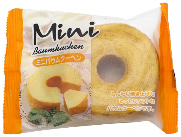 Taiyo Food Mini-Baumkuchen, 80 g