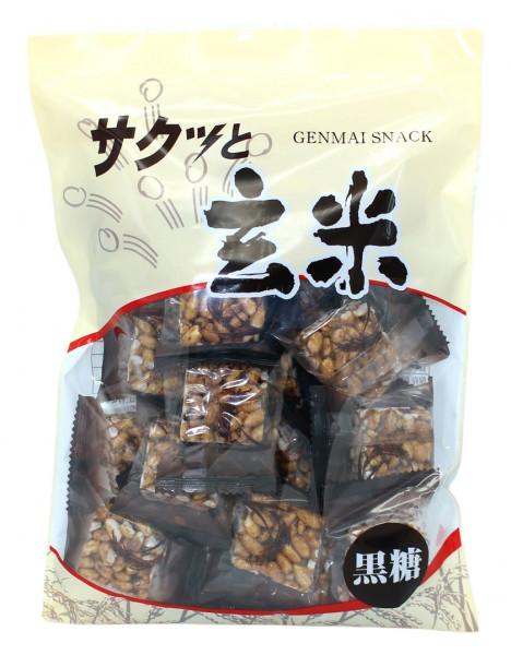 Sakutto Genmai, braunes Reisgebäck, 110 g